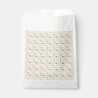 Süße Kuchen-Muster-Bevorzugungs-Taschen Geschenktütchen