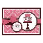 Süße Kuchen-Visitenkarte