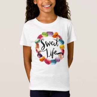 Süße Leben Macaron Plätzchen T-Shirt