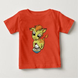 Süße Leckerei! Giraffe Baby T-shirt