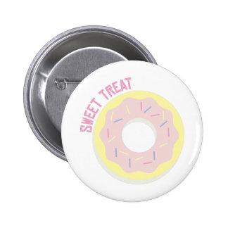 Süße Leckerei Runder Button 5,1 Cm