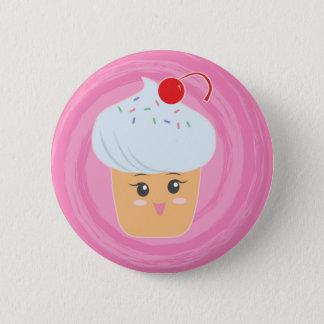 Süße Leckereien - kleine Kuchen! Runder Button 5,7 Cm