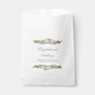 Süße Magnolien-elegante Gastgeschenk Geschenktütchen