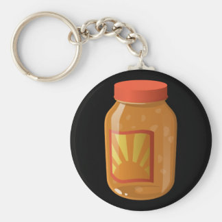 Süße n saure Soße der Störschub-Nahrung Schlüsselanhänger