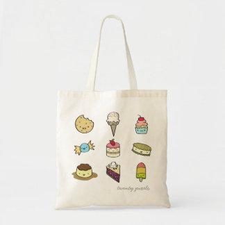 Süße Nachtisch-Tasche Budget Stoffbeutel