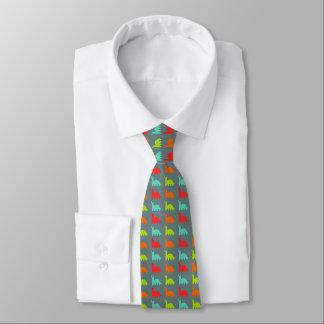 Süße niedliche bunte Dinosaurier Krawatte