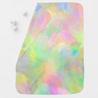 Süße Pastelle Baby-Decke