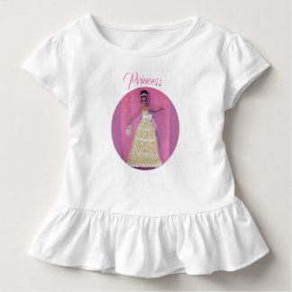 Süße Prinzessin Toddler Ruffle Tee
