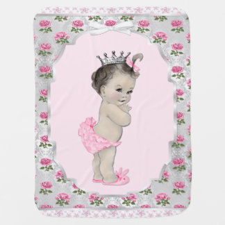 Süße Rosen-Rosa-Prinzessin Baby Babydecke