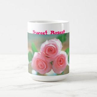 süße Rosen-Tasse Tasse