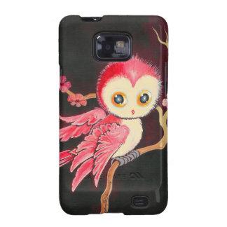 Süße rote Eule Samsung Galaxy S2 Hüllen