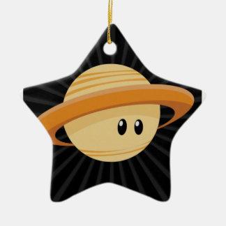 Süsse Saturn Keramik Ornament