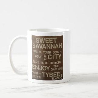 Süße Savanne Kaffeetasse