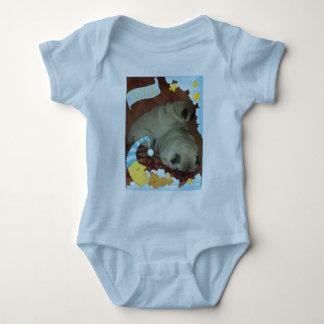 Süße Snuggle Puggle Träume Baby Strampler