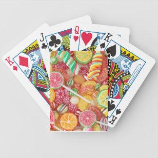 Süße Süßigkeits-Spielkarten Bicycle Spielkarten