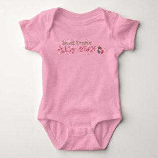 Süße Traum-Geleebonbon-Baby-Jersey-Bodysuit Baby Strampler