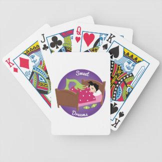 Süße Träume Bicycle Spielkarten