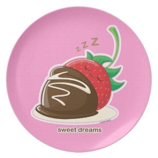 Süße Träume Flache Teller