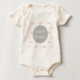Süße Träume mit Katzen Baby Strampler
