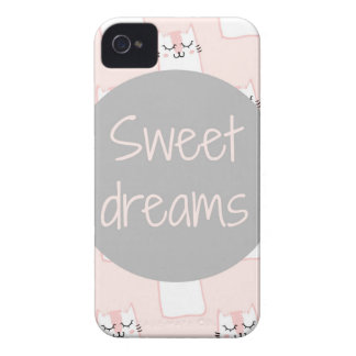 Süße Träume mit Katzen iPhone 4 Case-Mate Hülle