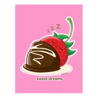 Süße Träume Postkarte