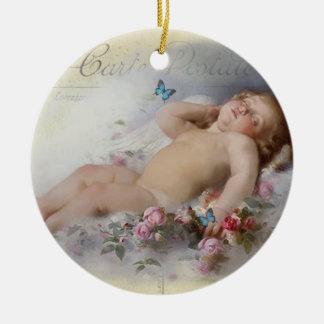Süße Träume Rundes Keramik Ornament