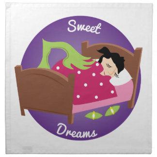 Süße Träume Stoffserviette