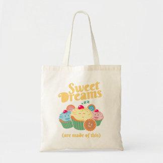 Süße Träume werden… von den kleinen Kuchen und von Tragetasche