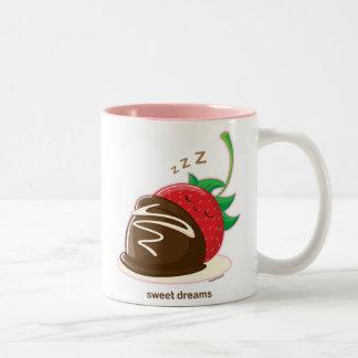 Süße Träume Zweifarbige Tasse