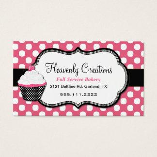 Süße Tupfen-und Kuchen-Bäckerei-Visitenkarte Visitenkarte