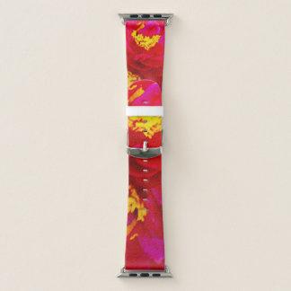 Süße Vigorosa Blumen Apple Watch Armband