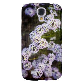 Süßer Alyssum im Schmutz Galaxy S4 Hülle