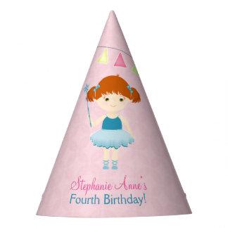 Süßer Ballerina-kleiner Kuchen Partyhütchen