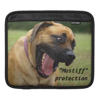 Süßer englischer Mastiff-glückliche HundIPad Hülse Sleeve Für iPads