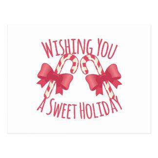 Süßer Feiertag Postkarte