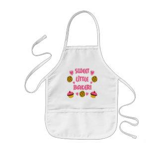 Süßer kleiner Bäcker Kinderschürze