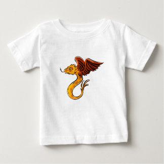 Süßer kleiner Fliegen-Drache Baby T-shirt