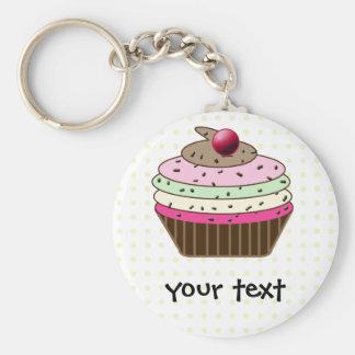 Süßer kleiner Kuchen Schlüsselanhänger