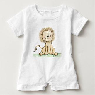 Süßer kleiner Löwe-Baby-Spielanzug Baby Strampler