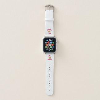 Süßer Liebe-kleiner Kuchen Apple Watch Armband