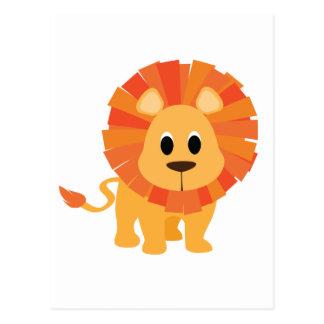 Süßer Löwe Postkarte