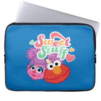 Süßer Material-Charakter Laptopschutzhülle