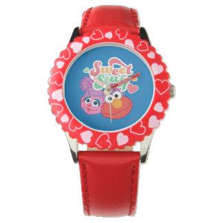 Süßer Material-Charakter Uhr