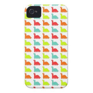 Süßer niedlicher Farbedinosaurier iPhone 4 Hüllen