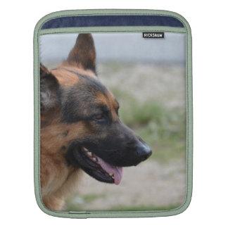 Süßer Schäferhund-Hund Sleeve Für iPads