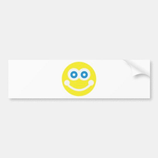 Süßer Smiley Autoaufkleber