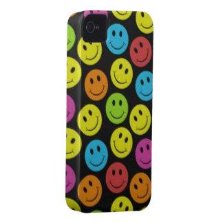 Süßer Smiley iPhone 4 Case-Mate Hülle