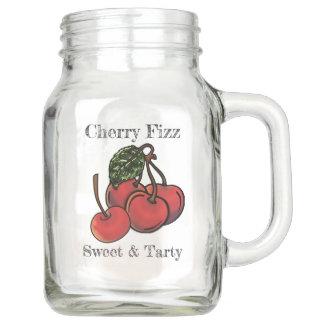 Süßer und Tarty KirschFizz (personalisiert) Einmachglas