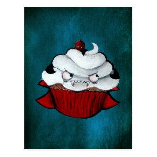 Süßer Vampirs-kleiner Kuchen Postkarte