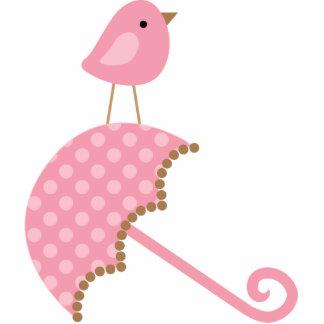 Süßer Vogel-Babyparty-Kuchen-Deckel Foto Ausschnitte